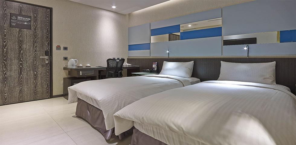 叙美精品旅店 - 標準雙床房 2