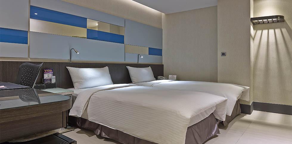 叙美精品旅店 - 標準雙床房 1